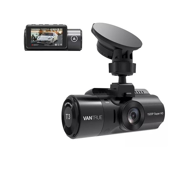 kamera samochodowa vantrue t3 obraz